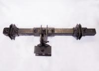Сцепка мотоблочная двойная на сажалки (крепление для ежиков)