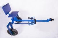 Адаптер до мотоблока з регулюванням висоти коліс