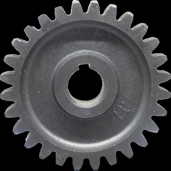 Шестерня промежуточная нижняя под шпонку GQN 125-140