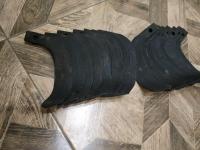 Ножи мотоблочной почвофрезы R175/180N/190N/195NM, 9 правый + 9 левый - 18 шт, комплект (НФ185)