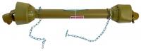 Карданный вал подборщика, фрезы, разбрасывателя (100 см) 6*6 шлицев