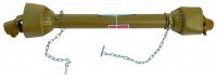 Карданный вал подборщика, фрезы, разбрасывателя (100 см) 6*8 шлицев