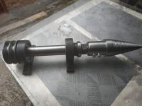 Вал для циркулярки с дровоколом - морковка, L-540 мм (ВЦД54)