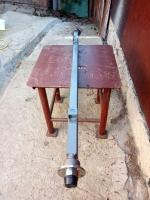 Балка АТВ-155 (08Р) для причепа квадратна, посилена (товщина 4 мм) зі ступицями ВАЗ 2108 під жигулівське колесо - БП14/155К-08Р4