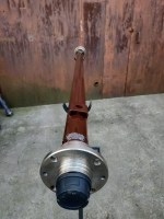 Балка АТВ-162/57 (08Р) для причепа під жигулівське колесо посилена (товщина 6 мм) - БП23/162Т57-08Р6