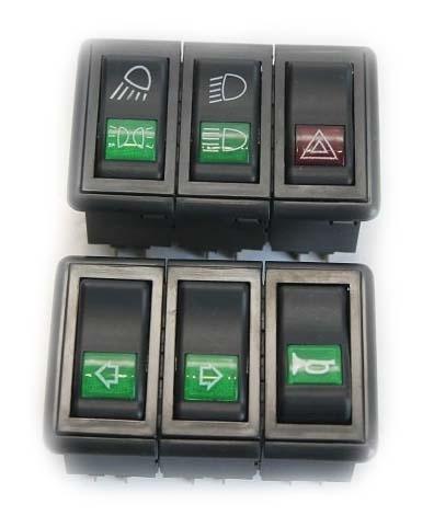 Блок переключателей (2 позиции) DF240-244 (46784)