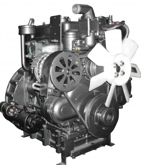 Двигатель дизельный KM-385BT FT240/244