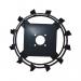 Ґрунтозачепи до мотоблока КО16 (450х110, без втулки)