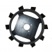 Ґрунтозачепи до мотоблока Zirka-105 КО17 (450х150, без втулки)