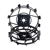 Металеві колеса до мотоблока Зубр (ґрунтозачепи) КО31  (600х110, без втулки)
