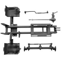 Комплект для переделки мотоблока в минитрактор КТ4 (гидравл. тормоз)