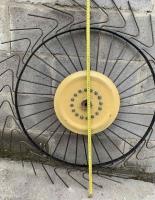 Колесо на мотоблочные грабли Солнышко неоцинкованное 5 мм (КГСМ5)