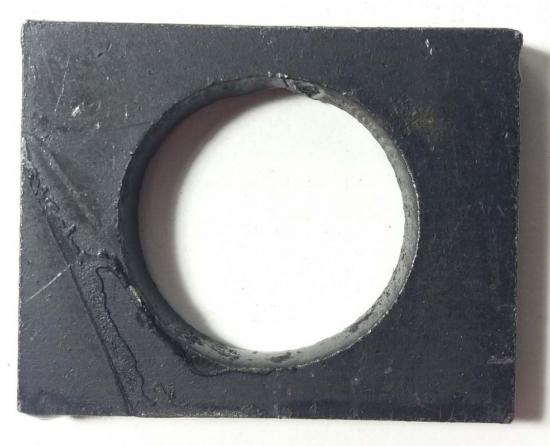 Концевая шайба фланца на дисковую борону Bomet