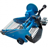 Транспортерна картоплекопалка полтавська до мотоблока, мототрактора однорядна КК10
