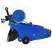 Транспортерна полтавська копалка картоплі до мототрактора однорядна КК11 (з гідравлікою)