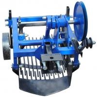 Вібраційна копалка для картошки до мотоблока, мототрактора однорядна КК13