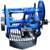 Вібраційна полтавська картоплекопалка однорядна до мотоблока Zirka-61 (КК8)