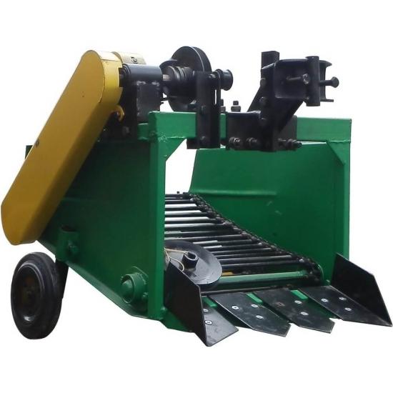 Транспортерная картофелекопалка на мотоблок, мототрактор однорядная КМТ-1