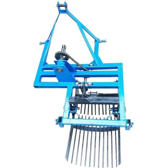 Вібраційна картоплекопачка до мінітрактора однорядна КТН-01В
