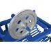 Вібраційна картоплекопалка до мотоблока однорядна КМ-2 з активним ножем