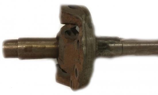 Корпус дифференциала с валом центральной передачи старого образца Синтай 120-180