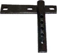Кріплення роторної косарки до мототрактора