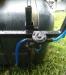 Обприскувач до мототрактора, мотоблока навісний 130 літрів (штанга 4 метри)