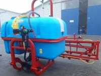 Обприскувач до трактора Jar-Met 1000 літрів, гнута рама, потрійні форсунки (штанга 14 метрів)