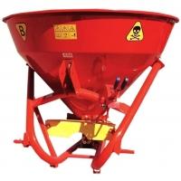 Розкидач мінеральних добрив до міні трактора Jar-Met 650 (лійка для міндобрив)