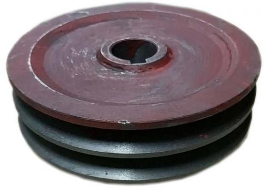 Шків ел.двигуна 2-х ручейний D26мм січкарня Розумниця / 9QZ-0.6