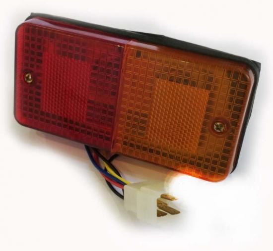 Стекло указателя поворота переднее ХТ 120 / ХТ 160 / ХТ 180