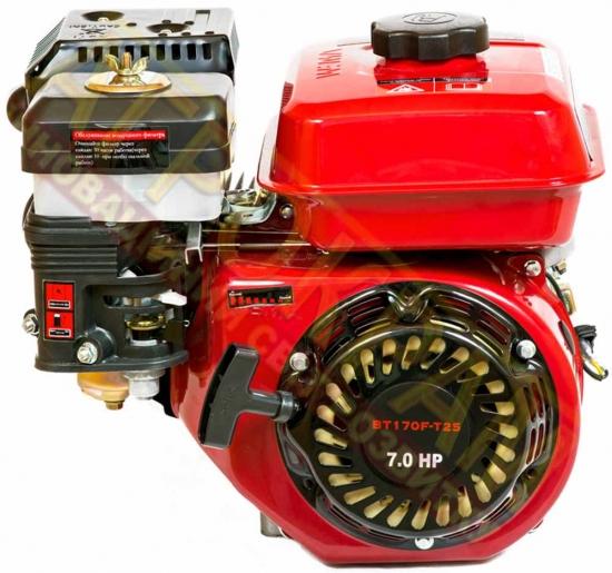Бензиновый двигатель Weima ВТ170F-T/25