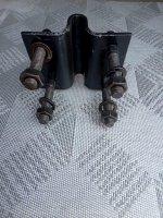 Кріплення дискового сошника сівалки мотоблока (КСЗС)