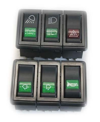 Блок перемикачів (2 позиції) DF240-244 (46784)
