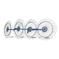 Граблі - ворушарки на мотоблок 4-х колісні Сонечко AGROLUXE (79002)