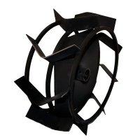 Металеві колеса до мотоблока (ґрунтозачепи) КО12 (380х150)