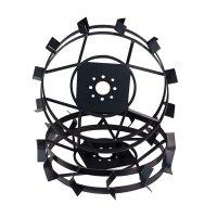 Железные колеса на мотоблок Зубр (грунтозацепы) КО31  (600х110, без втулки)