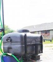 Обприскувач до мотоблока, мототрактора навісний 105 літрів (штанга 6 метрів)