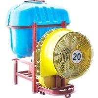Садовый навесной опрыскиватель для минитрактора польский 600 литров Polmark