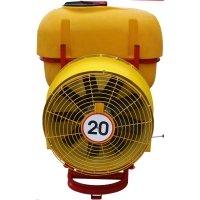 Садовый опрыскиватель на минитрактор Polmark 300 литров польский (медные форсунки, ремни)