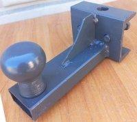 Сцепка для мототрактора СЦА-49 под автоприцеп (фаркоп - груша)