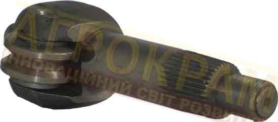 Вал рулевого механизма горизонтальный нового образца Синтай 120-180