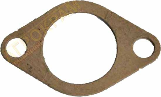 Прокладка фланця нижнього патрубку радіатора Сінтай 120-180